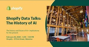 Shopify Data Talks – The History of AI